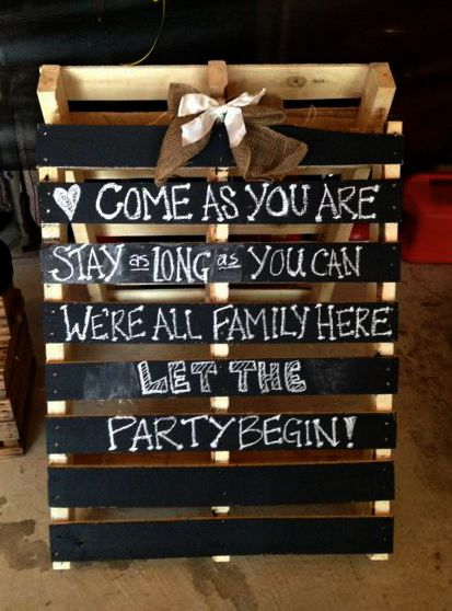 Chalk-sign-for-engagement-party